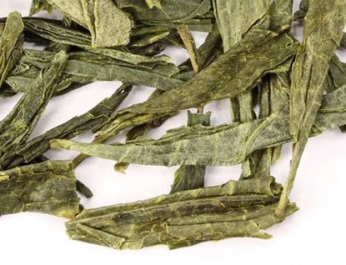 Delicate Flavors of Mandarin Green Tea