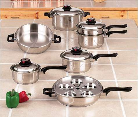 Waterless Cookware Sets