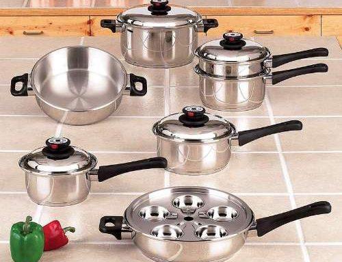 Maxam KT17 Waterless Cookware Review