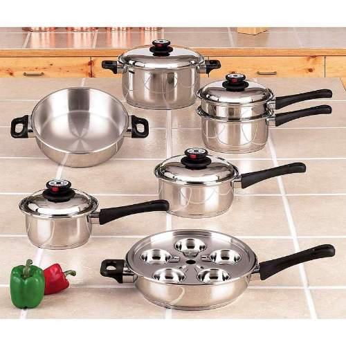 Maxam KT17 Waterless Cookware